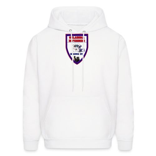Large shield hoodie - Men's Hoodie