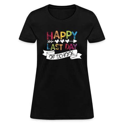 Happy Last Day of School | Stamps  - Women's T-Shirt