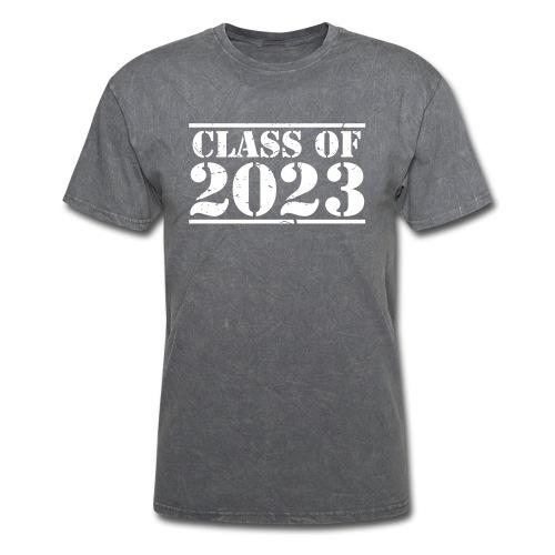 Class of 2023 distressed grad logo - Men's T-Shirt