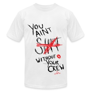 2NE1- Your Crew - Men's T-Shirt by American Apparel