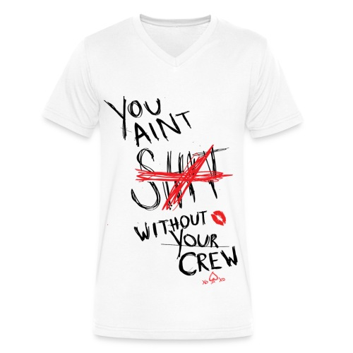 2NE1- Your Crew - Men's V-Neck T-Shirt by Canvas