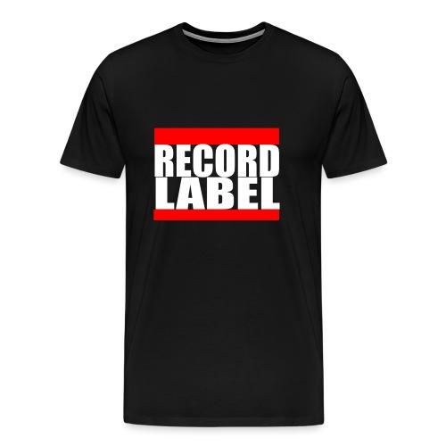 Record Label  - Men's Premium T-Shirt