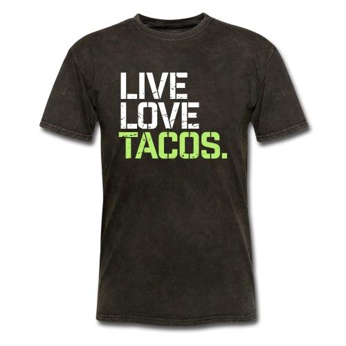 Live Love Tacos - Men's T-Shirt