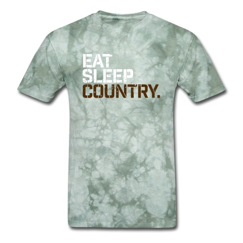 Eat Sleep Country - Men's T-Shirt