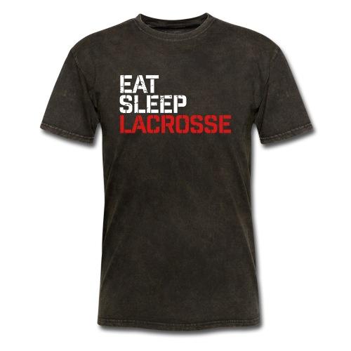 Eat Sleep Lacrosse - Men's T-Shirt