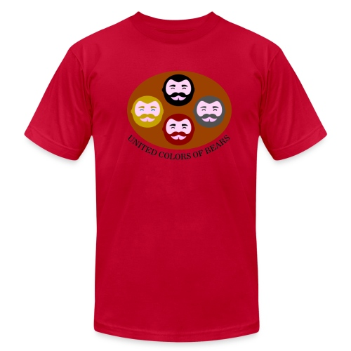 United colors of bears - Men's Fine Jersey T-Shirt