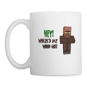 Where'd my wood go!?  Mug - Coffee/Tea Mug