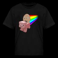 Kids' Shirts ~ Kids' T-Shirt ~ Nyan Pig - Kids T-Shirt