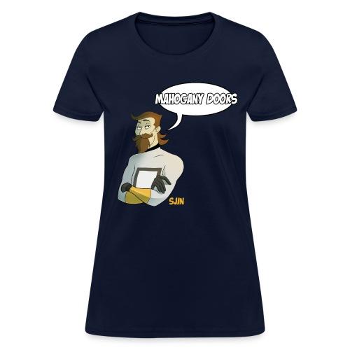 Mahogany Doors (Women) - Women's T-Shirt