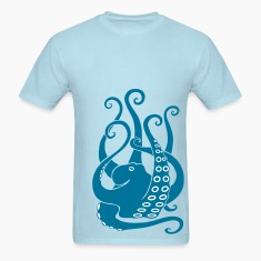 octopus squid cuttlefish calamary scuba diving T-Shirts