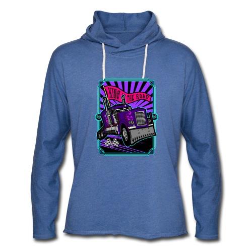 King got the road purple - Unisex Lightweight Terry Hoodie