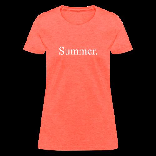 Summer.  - Women's T-Shirt