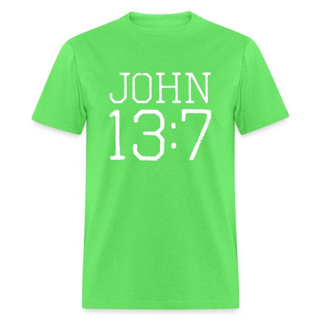 John 13:7 bible verse shirt