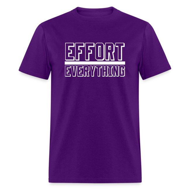 Effort Over Everything