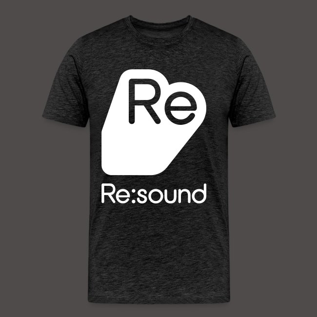 Premium T-Shirt with Re:Sound Logo in White Text
