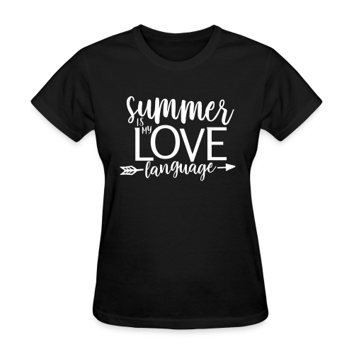 Summer Is My Love Language - Women's T-Shirt