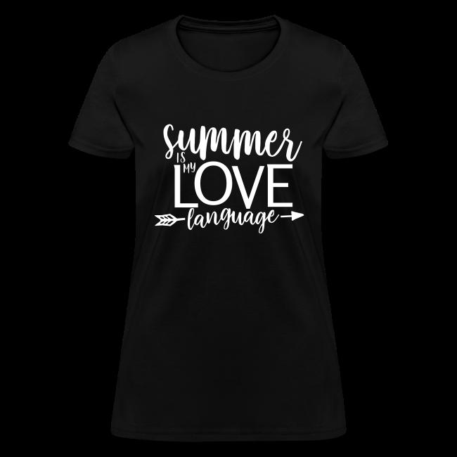 Summer Is My Love Language