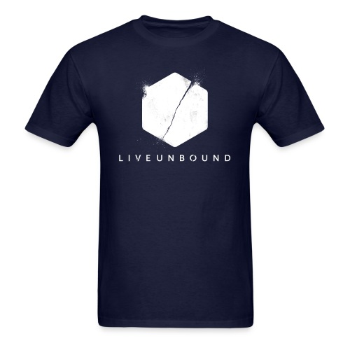 LiveUnbound Logo - Men's T-Shirt