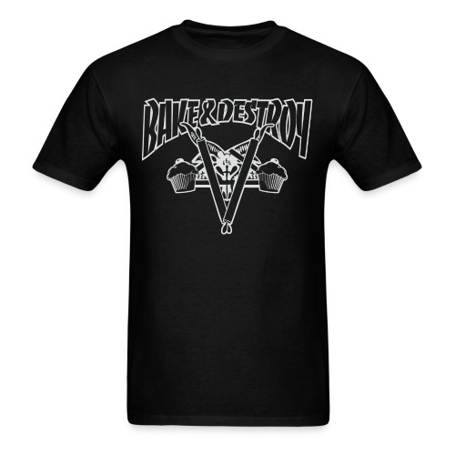 Goat and Destroy Unisex T-shirt - Men's T-Shirt