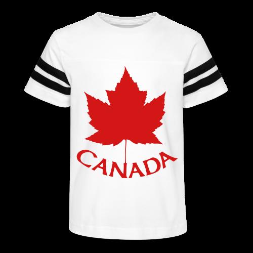 Canada Baseball Jerseys Kid's Canada Souvenir Shirts - Kid's Vintage Sport T-Shirt