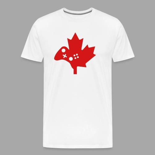 Men's Premium Tee - Gamertag - Red Logo - Men's Premium T-Shirt