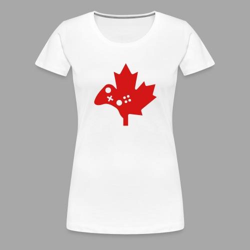 Women's Premium Tee - Gamertag - Red Logo - Women's Premium T-Shirt