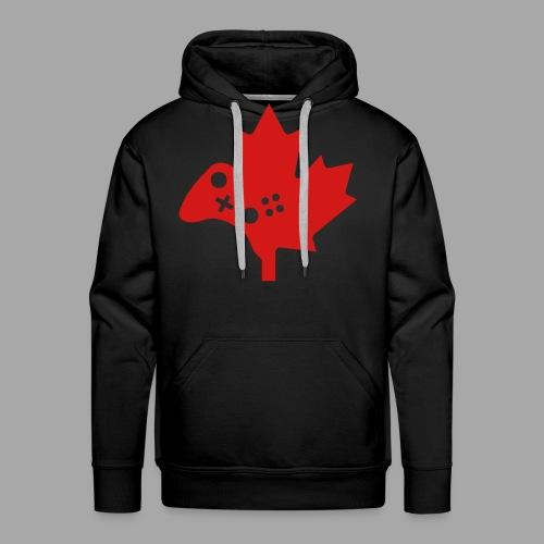 Men's Premium Hoodie - Red Logo - Men's Premium Hoodie