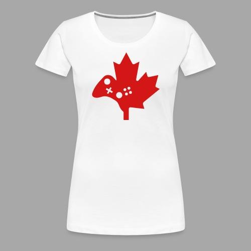 Women's Premium Tee - Red Logo - Women's Premium T-Shirt