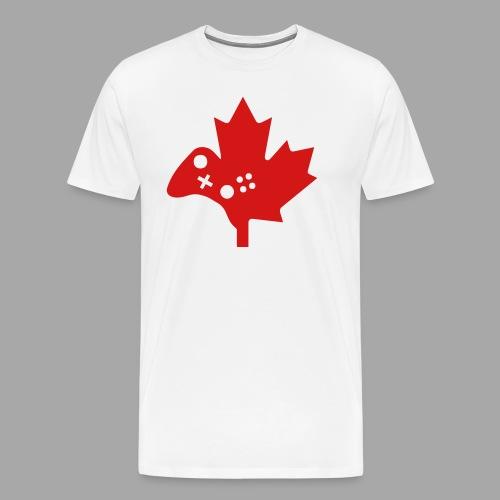 Men's Premium Tee - Red Logo - Men's Premium T-Shirt