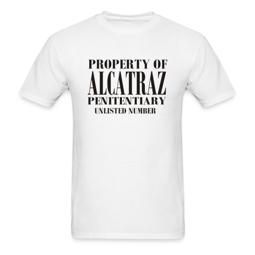 Alcatraz Penitentiary enlisted number - Men's T-Shirt