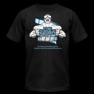 T-Shirts ~ Men's T-Shirt by American Apparel ~ Swole Nerd NEW- Tee