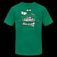 T-Shirts ~ Men's T-Shirt by American Apparel ~ Swole Nerd New GREEN- Tee