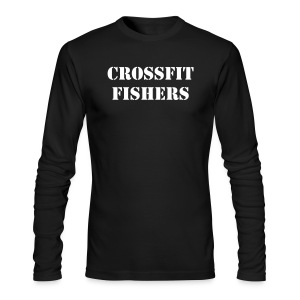 CrossFit Fishers, mens long t-shirt - Men's Long Sleeve T-Shirt by Next Level