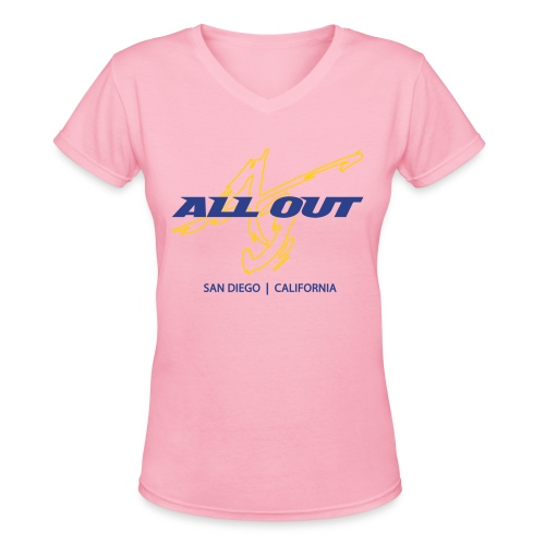 AO SD Women's V-Neck T - Women's V-Neck T-Shirt