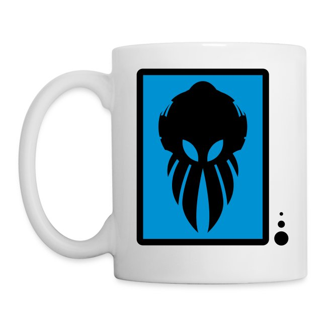 Betamorph Alien Coffee Cup | black/blue