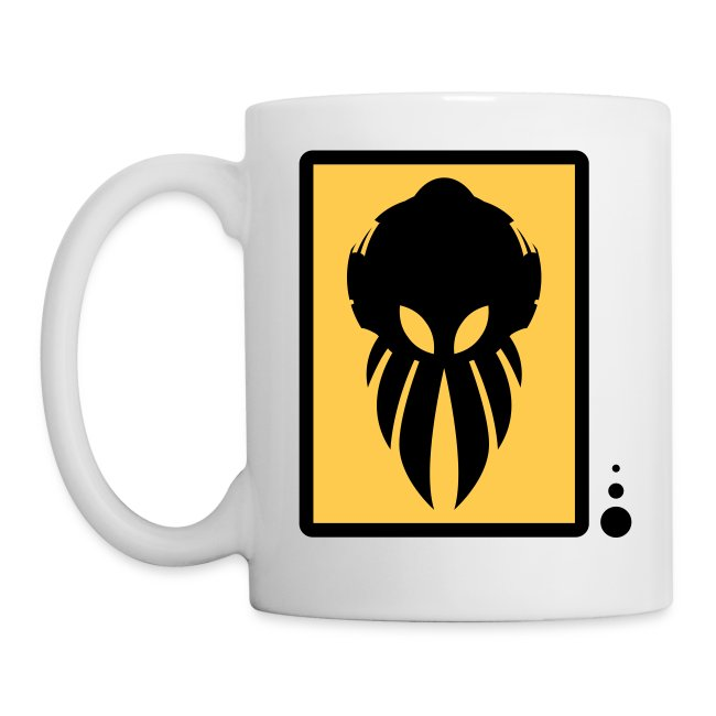 Betamorph Alien Coffee Cup | black/yellow
