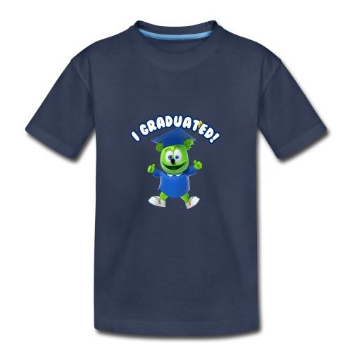 I Graduated! Toddler T-Shirt Gummibär (The Gummy Bear)  - Kids' Premium T-Shirt