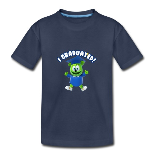I Graduated! Toddler T-Shirt Gummibär (The Gummy Bear)  - Kids' Premium T-Shirt