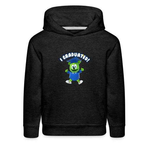 I Graduated! Kids Hoodie Gummibär (The Gummy Bear)  - Kids' Premium Hoodie