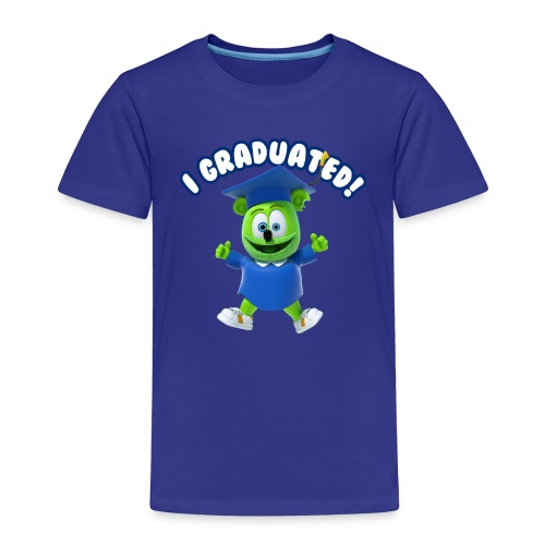 I Graduated! Kids T-Shirt Gummibär (The Gummy Bear)  - Toddler Premium T-Shirt