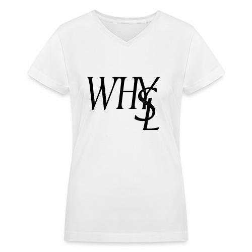 WhYSL - Women's V-Neck T-Shirt