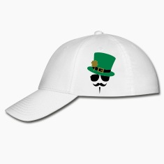 Go Green Moustache Caps