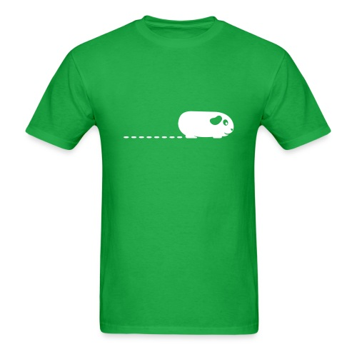 'Pooping Guinea Pig' Mens T-Shirt - Men's T-Shirt