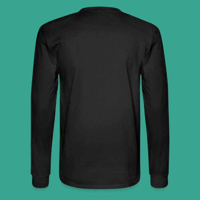 Men's Long-sleeve T-shirt with Living Impaired