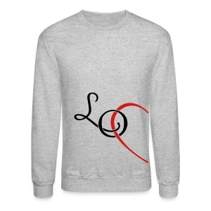 LO - LOVE couple shirt Long Sleeve Shirts - Crewneck Sweatshirt