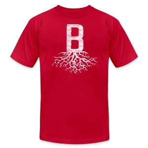 B with Roots Boston - Men's Fine Jersey T-Shirt