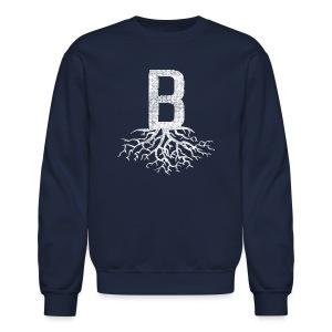 B with Roots - Crewneck Sweatshirt