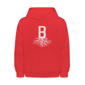 B with Roots - Kids' Hoodie