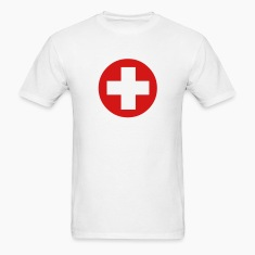 Medical Cross Symbol T-Shirts