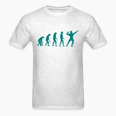 Evolved to Bodybuilding T-Shirts